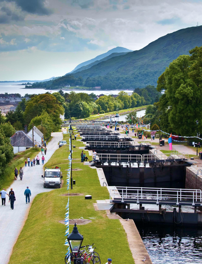 Caledonian canal Fort Augustus