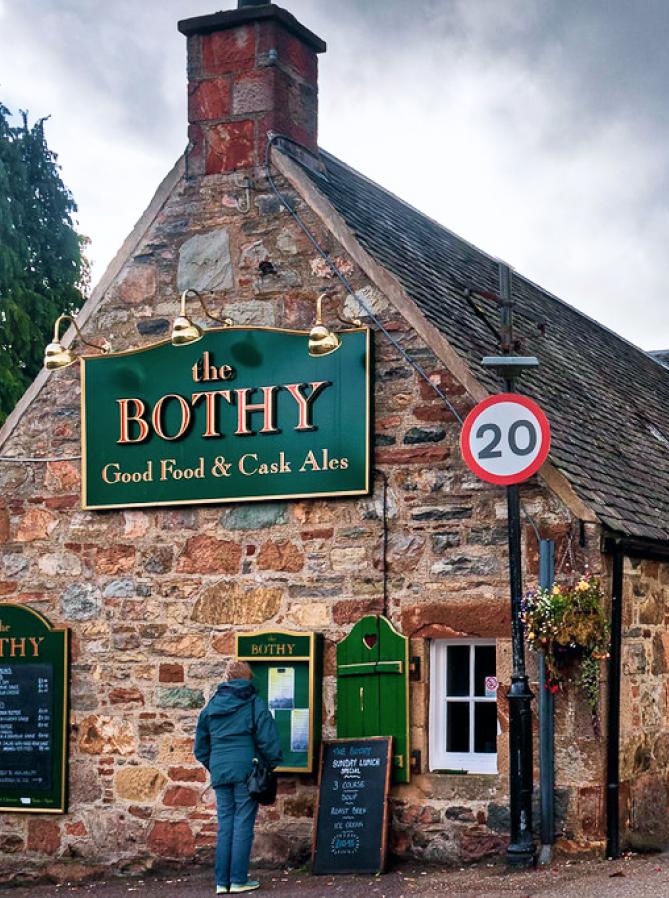 The Bothy restaurant, Loch Ness